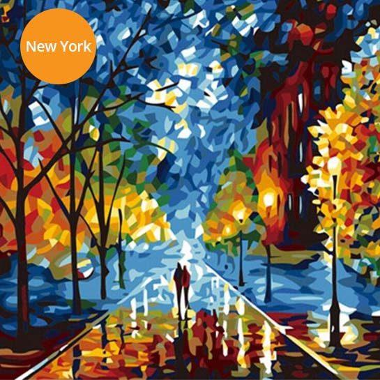Schilderij-NewYork