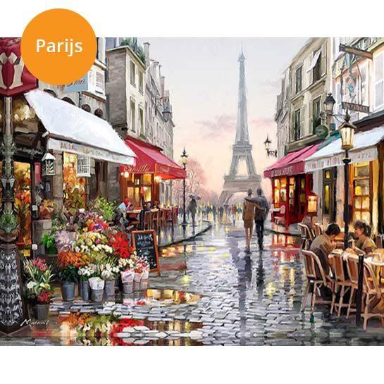 Schilderij-Parijs