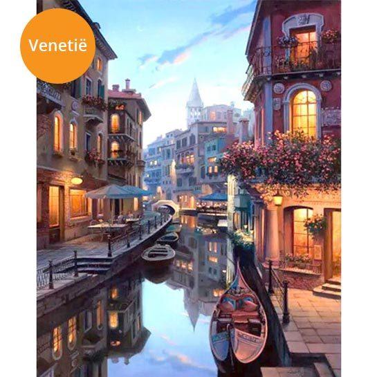 Schilderij-Venetië