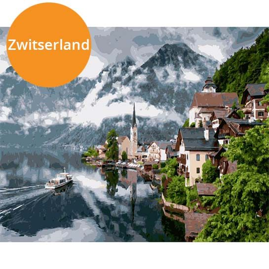Zwitserland-paint-by-numbers