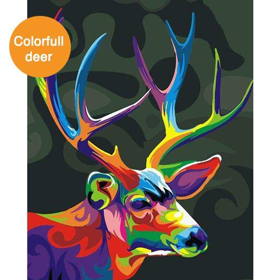 colorfull deer