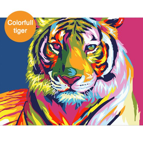 colorfull tiger