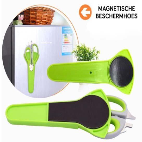 7-In-1 Multifunctionele Keukenschaar