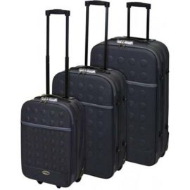 Reiskoffers met slot 3-delig