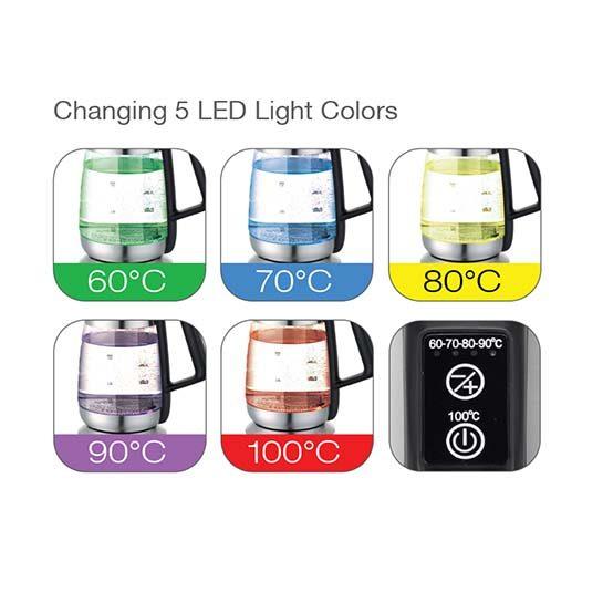 ZL-LED07 LED waterkoker