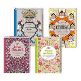 kleurboeken pakket voor volwassenen