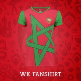 Marokkaans wk fan shirt