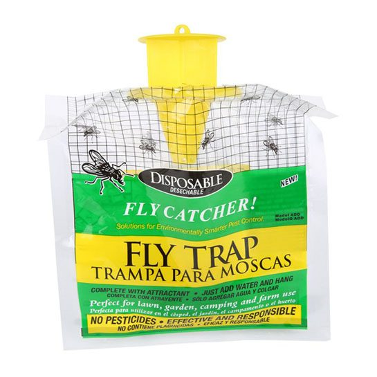 Fly trap fly catcher