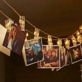 Foto knijpers met led verlichting
