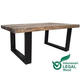 Indonesische-boothout-tafel