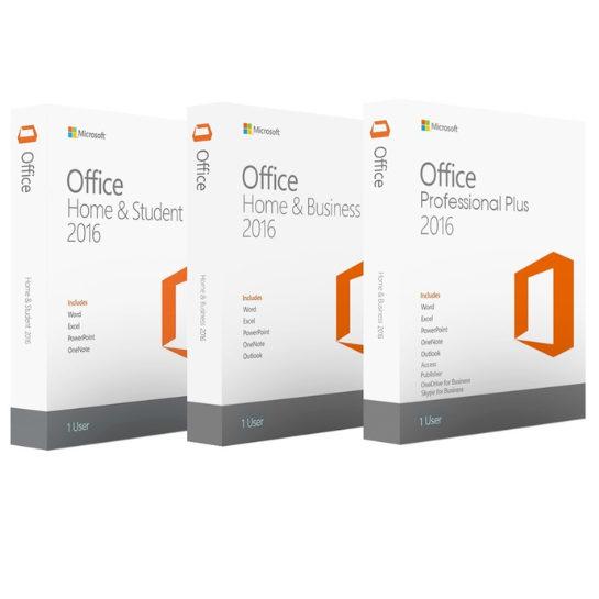 Office 2016 Pakketten Aanbieding