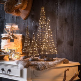 Kerstboom-sfeer