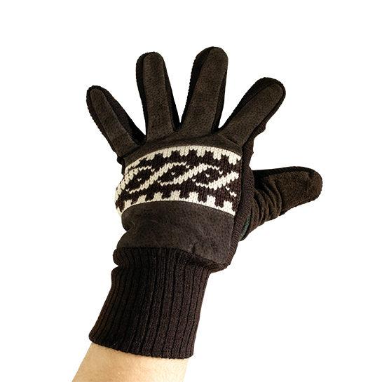 Handschoen Bruin Voorkant