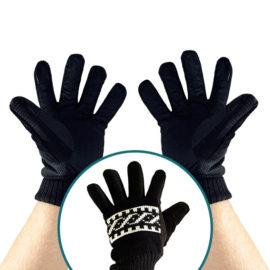 Handschoen Zwart Hoofd