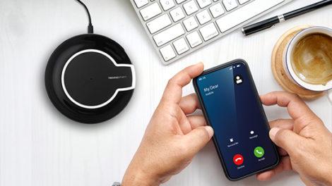 Draadloze mobiel oplader
