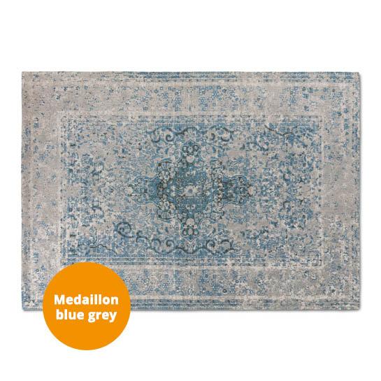 Medaillon Katoen Azur Blue Grey3