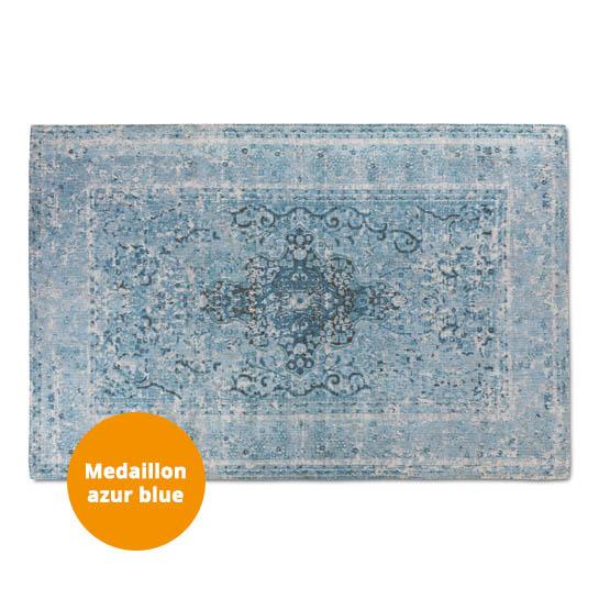 Medaillon Katoen Azur Blue3