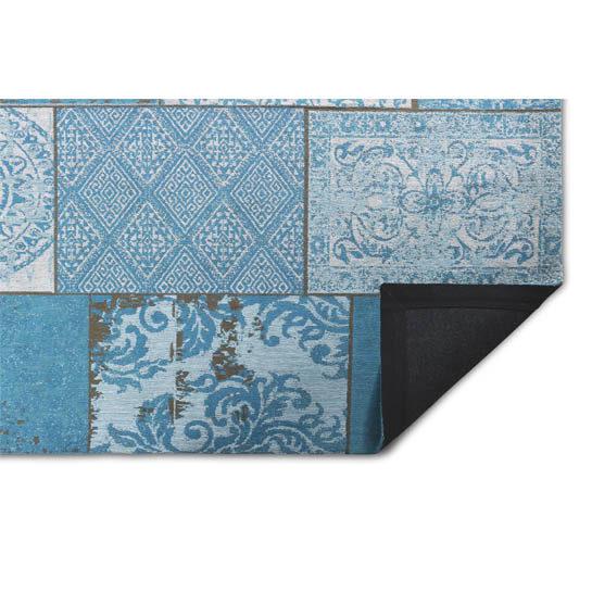 Patchwork Katoen Azur Blue 1