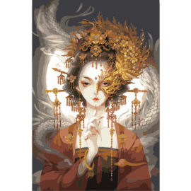 Chinese Vrouw Met Masker