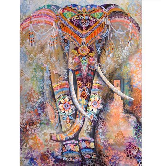 Diamond painting olifant india