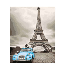 Eiffeltoren Met Eend