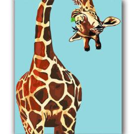 Giraffe Schilderen Op Nummers