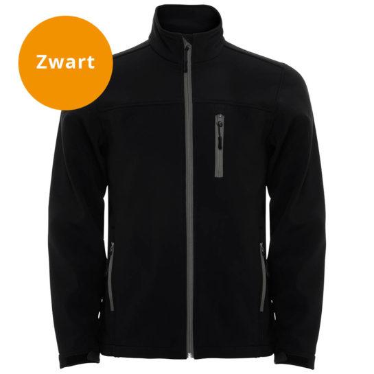Zwarte Softshell Jas2