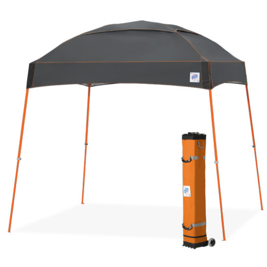 Dome Partytent Donkergrijs