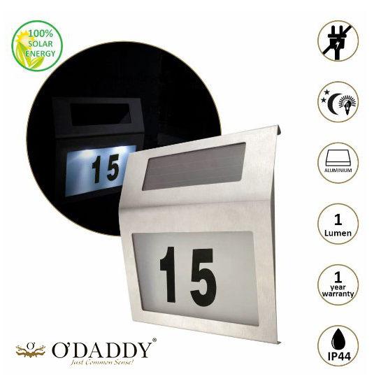 Odaddy Huisnummerverlichting