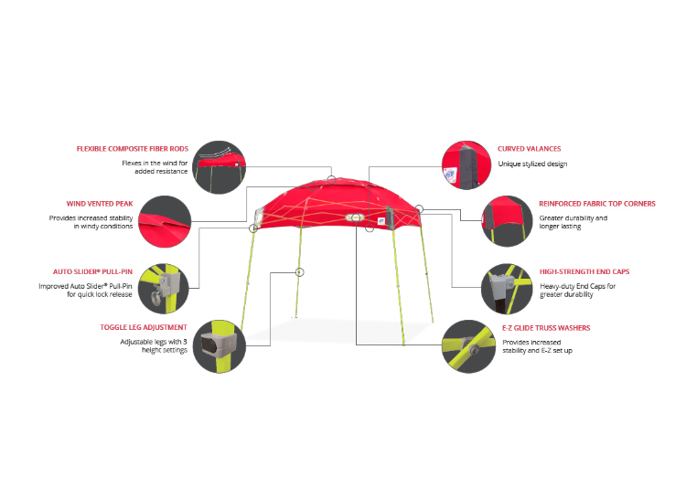 Partytent Dome