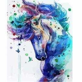 Colourful Horse Schilderen Op Nummers
