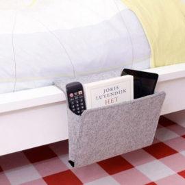 4 Vilt Multifunctionele Bed Bank Opknoping Houder Organizer Box Tijdschrift Smart Telefoon Afstandbediening Opbergtas Zakken 27