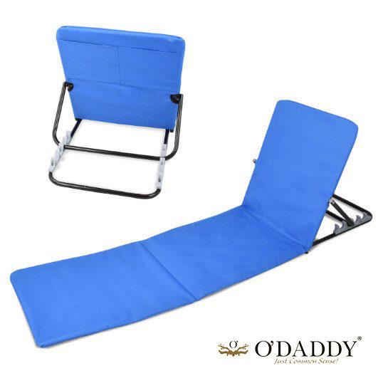 Blauwe Strandmat Opvouwbaar
