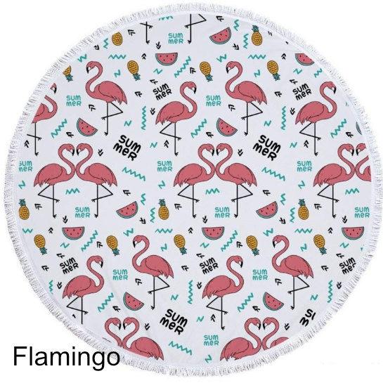 Flamingo Strandlaken Aanbieding