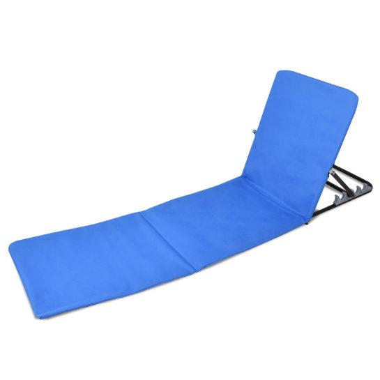 Opvouwbare Strandmat Blauw