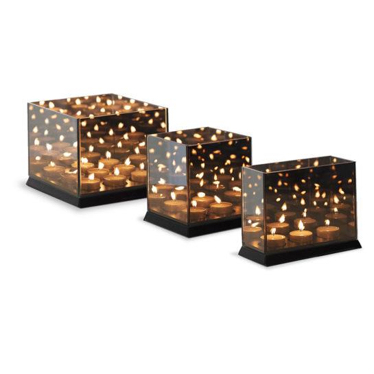 Candlelight Zwart Alle Drie Maten