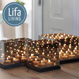 Candlelight Zwart Sfeer Alle Drie Maten Met Logo
