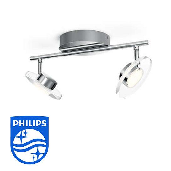 Philips Opbouwspot Myliving Glissette 2 Spots Vrijstaand
