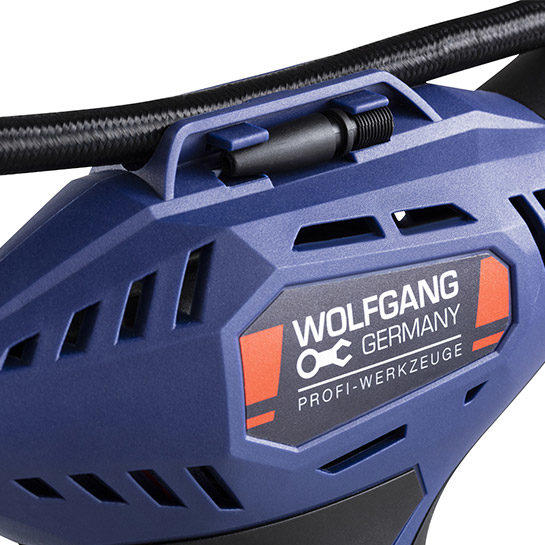 Wolfgang Air Compressor Close Up