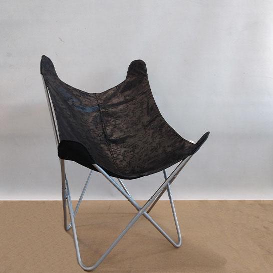 Chique Vlinderstoel Grijs