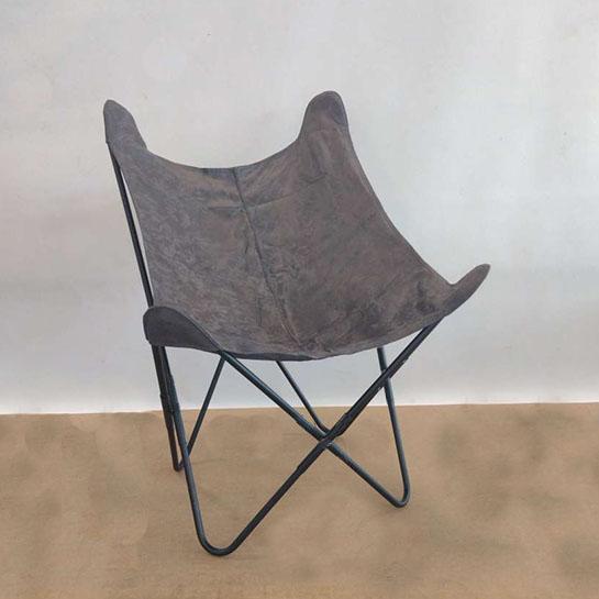 Chique Vlinderstoel Zwart