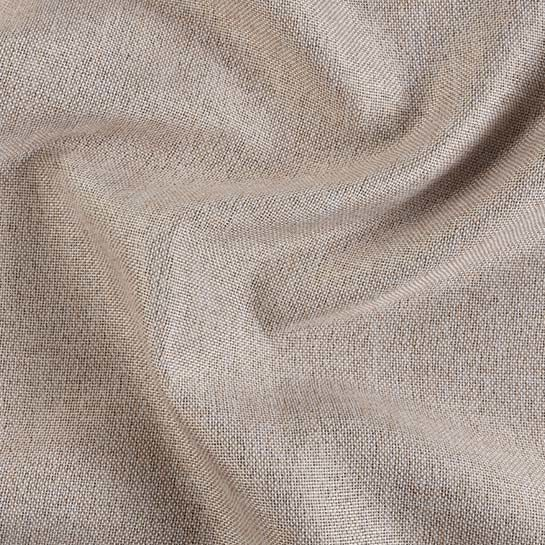 Luxe Gweven Gordijn Beige Close Up