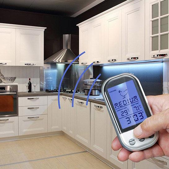 Draadloze Vleesthermometer Sfeer 2