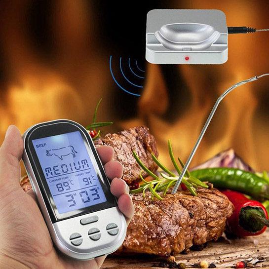 Draadloze Vleesthermometer Sfeer 3