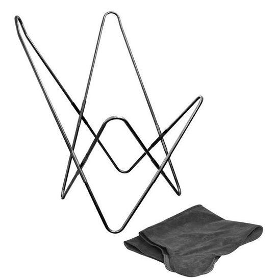 Vlinderstoel Staal Met Stoel