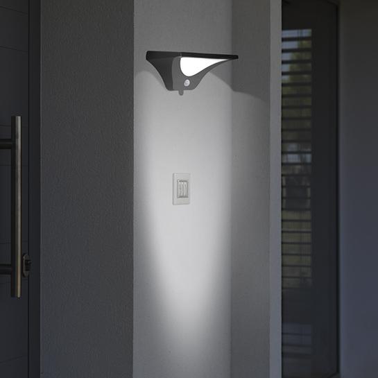 Arizona Led Buitenlamp Met Sensor Sfeer 2