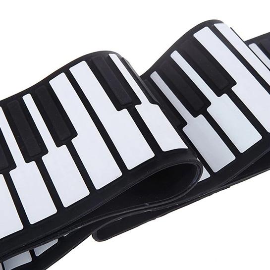 Pianotoetsen Close Up 2