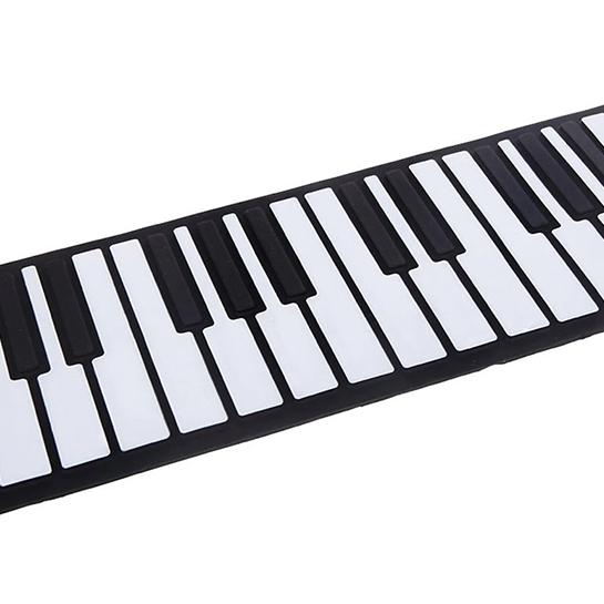 Pianotoetsen Close Up