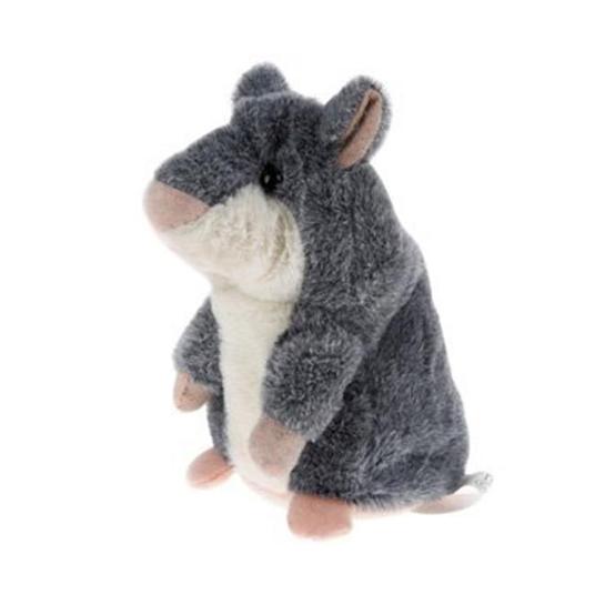 Hammie De Hamster Grijs Vrijstaand