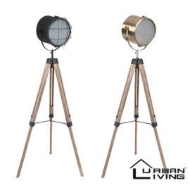 Industiele Vloerlamp Urban Living Hoofd